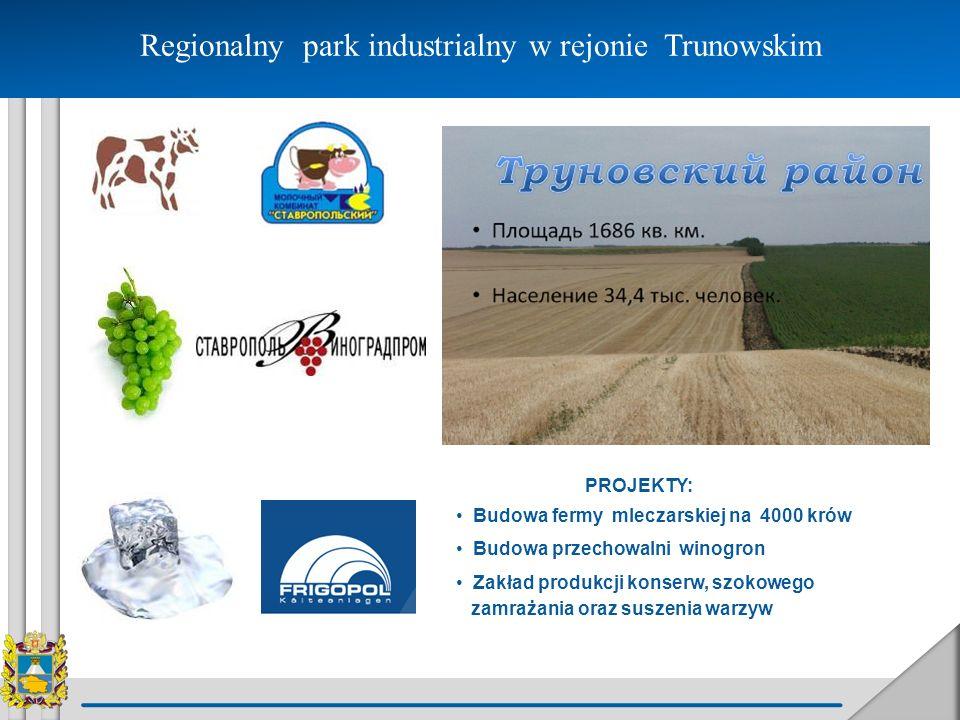 Regionalny park industrialny w rejonie Trunowskim