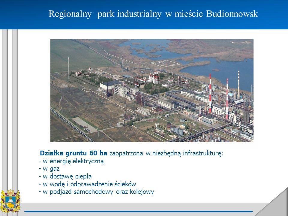 Regionalny park industrialny w mieście Budionnowsk