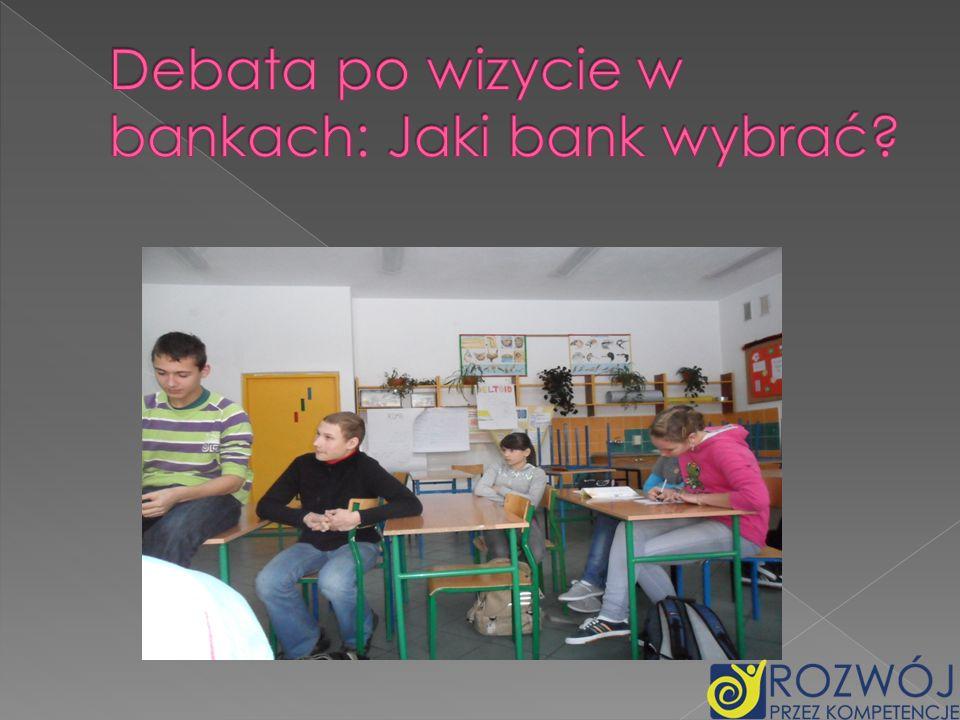 Debata po wizycie w bankach: Jaki bank wybrać