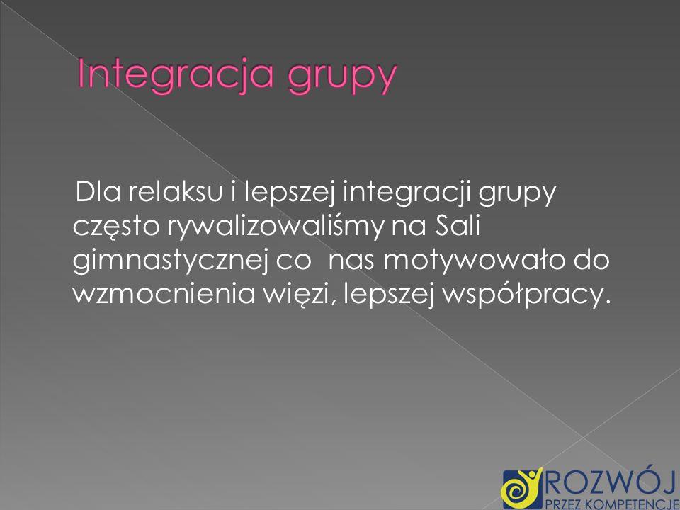 Integracja grupy