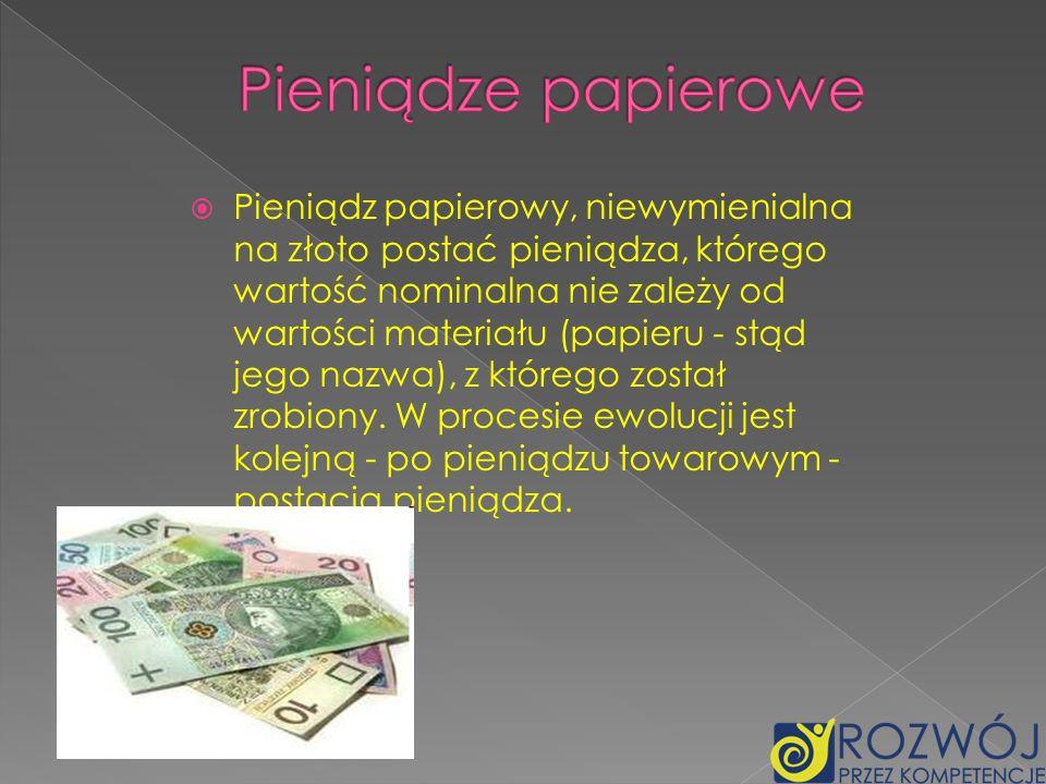 Pieniądze papierowe