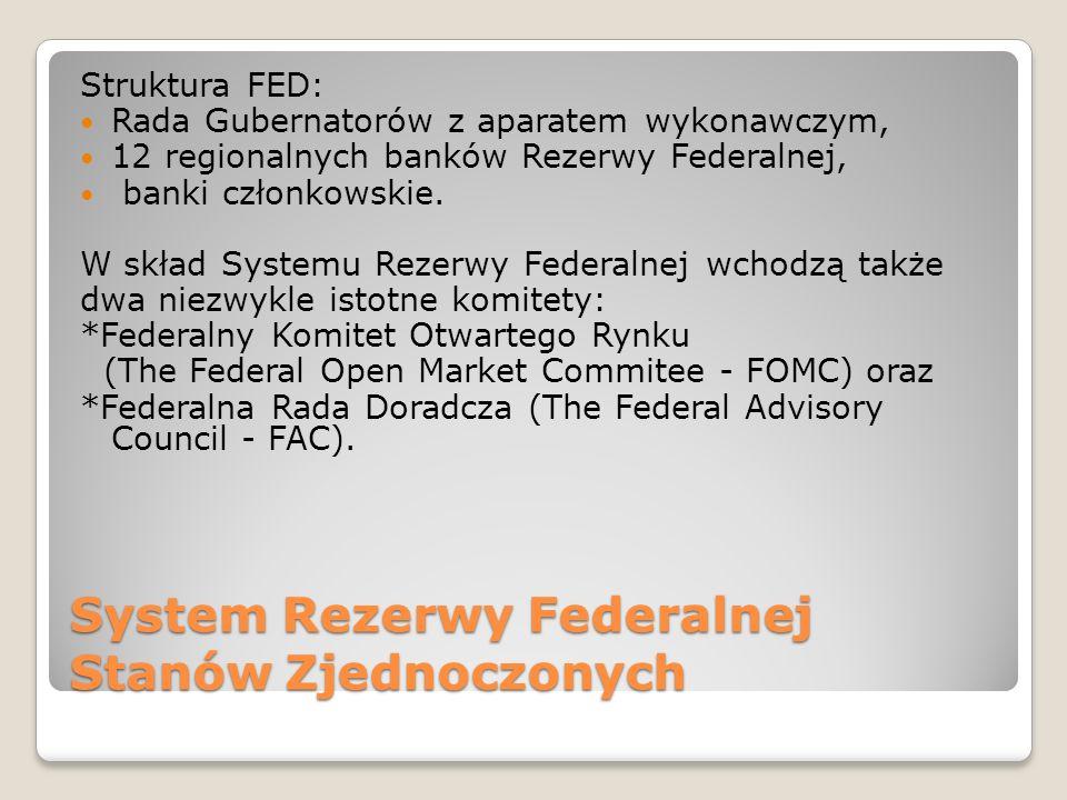 System Rezerwy Federalnej Stanów Zjednoczonych