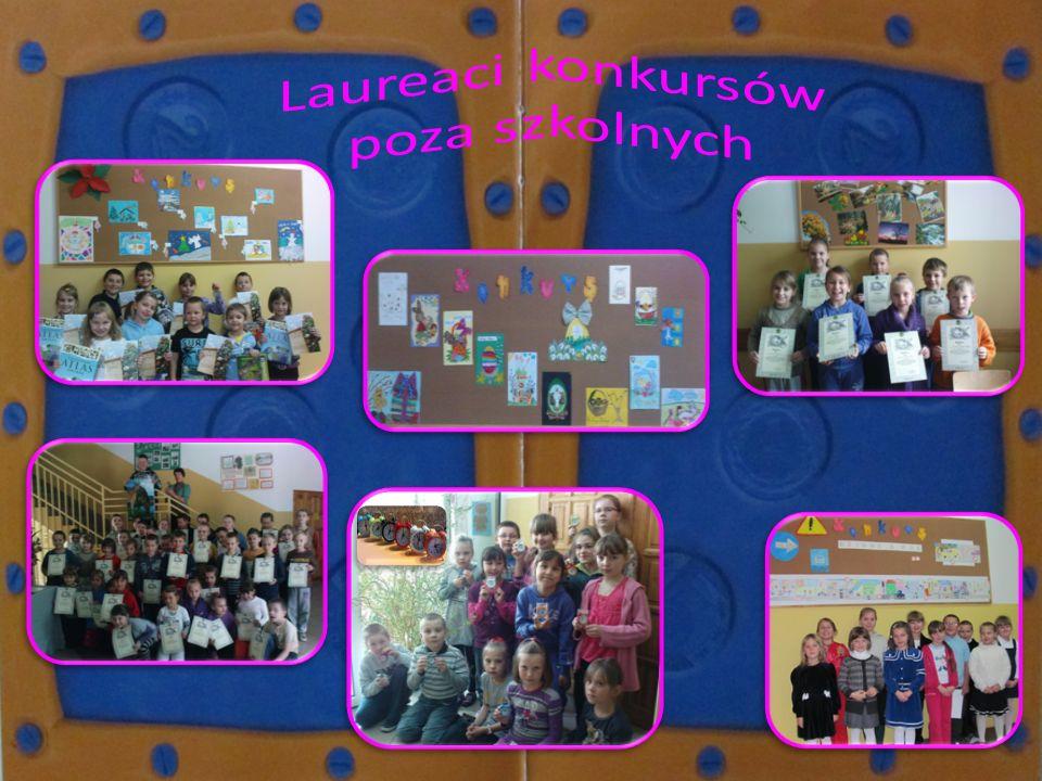 Laureaci konkursów poza szkolnych