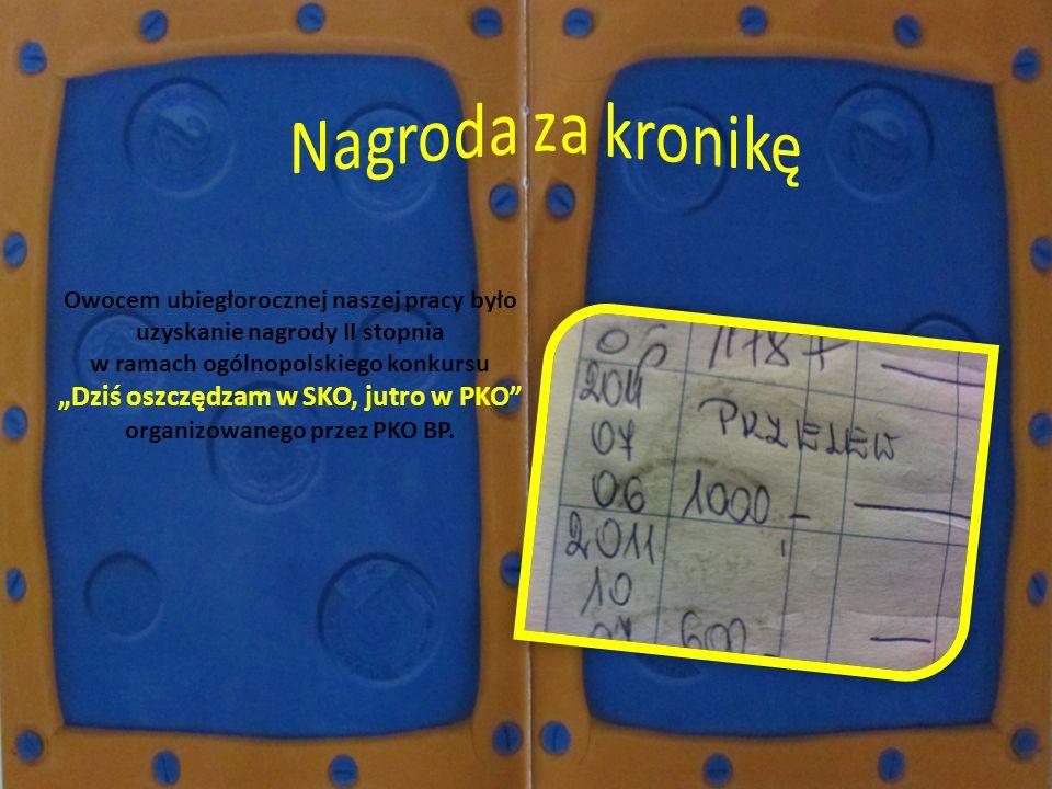 """""""Dziś oszczędzam w SKO, jutro w PKO organizowanego przez PKO BP."""