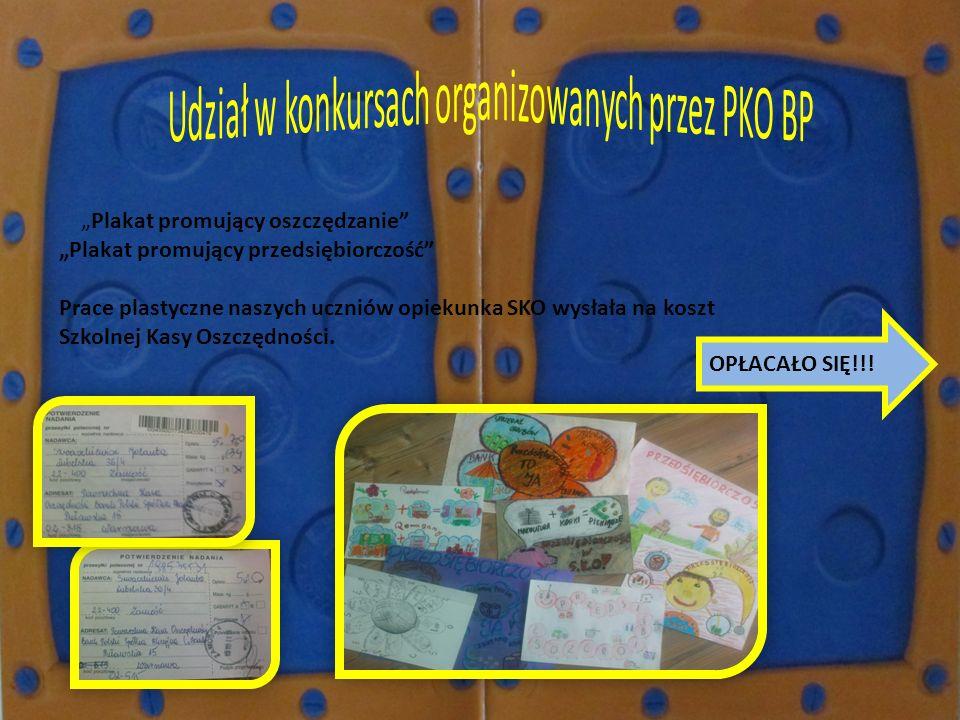 Udział w konkursach organizowanych przez PKO BP