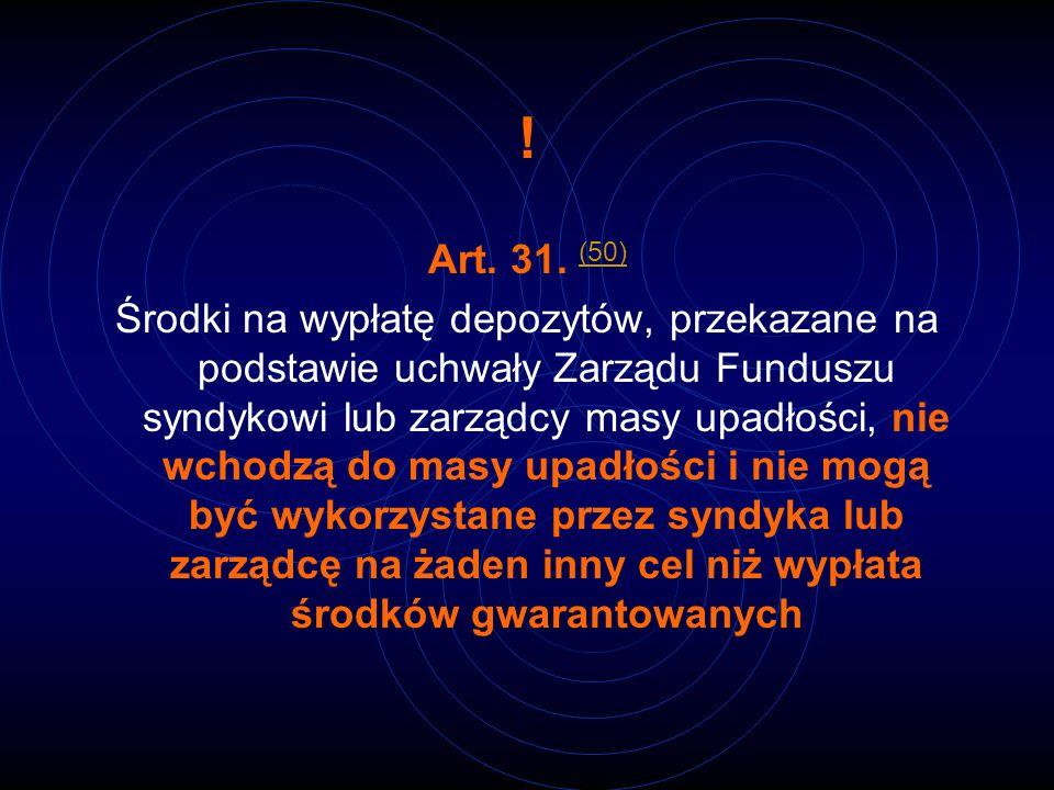 ! Art. 31. (50)