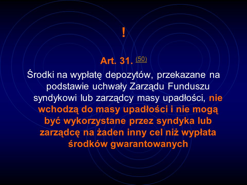 !Art. 31. (50)