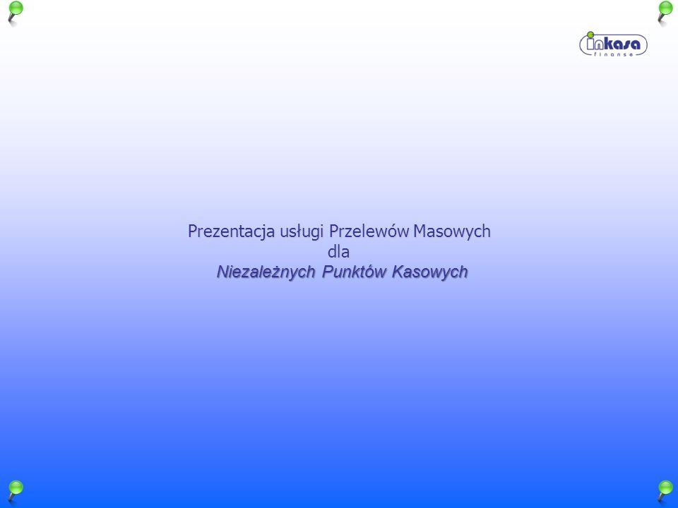 Prezentacja usługi Przelewów Masowych dla