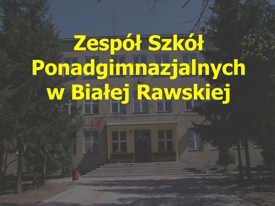 Zespół Szkół Ponadgimnazjalnych w Białej Rawskiej