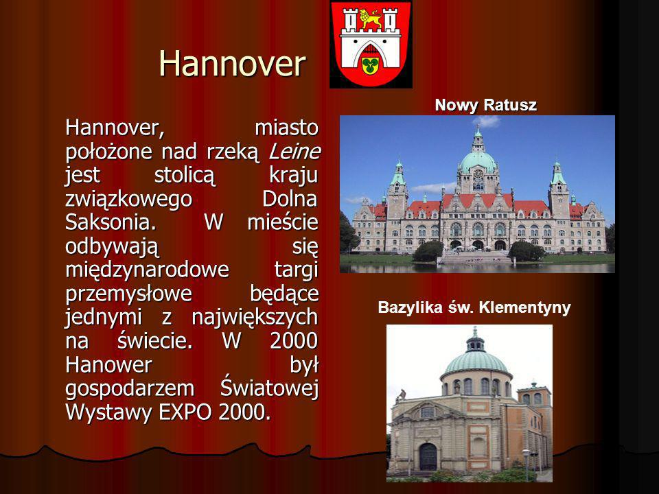 Hannover Nowy Ratusz.