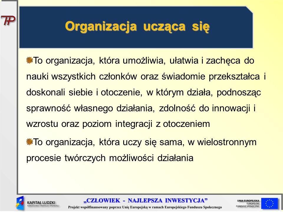 Organizacja ucząca się