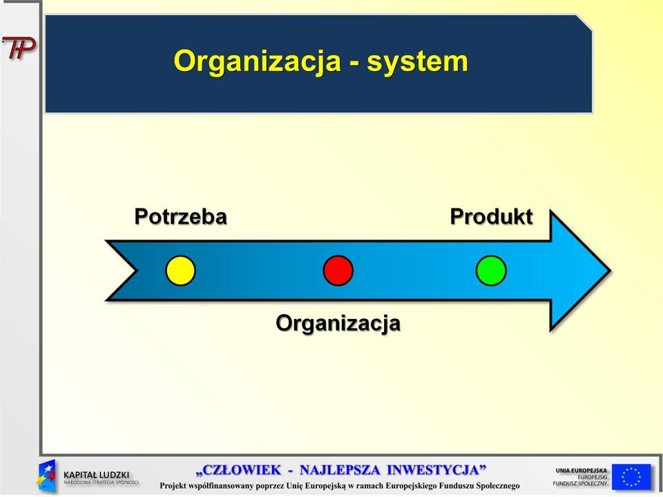 Organizacja - system