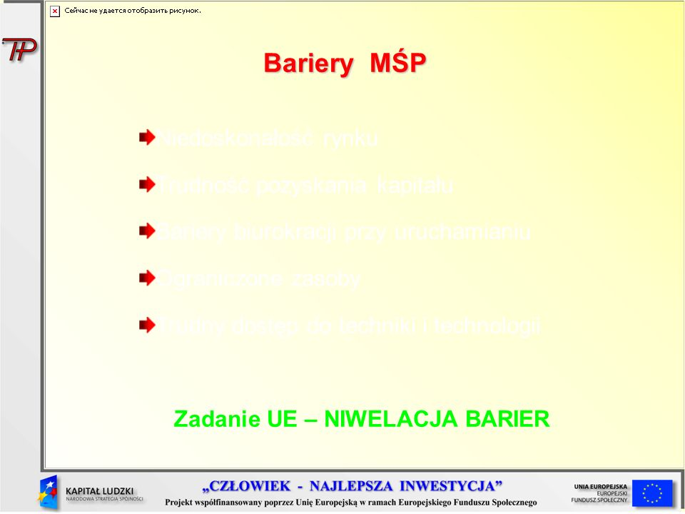 Zadanie UE – NIWELACJA BARIER