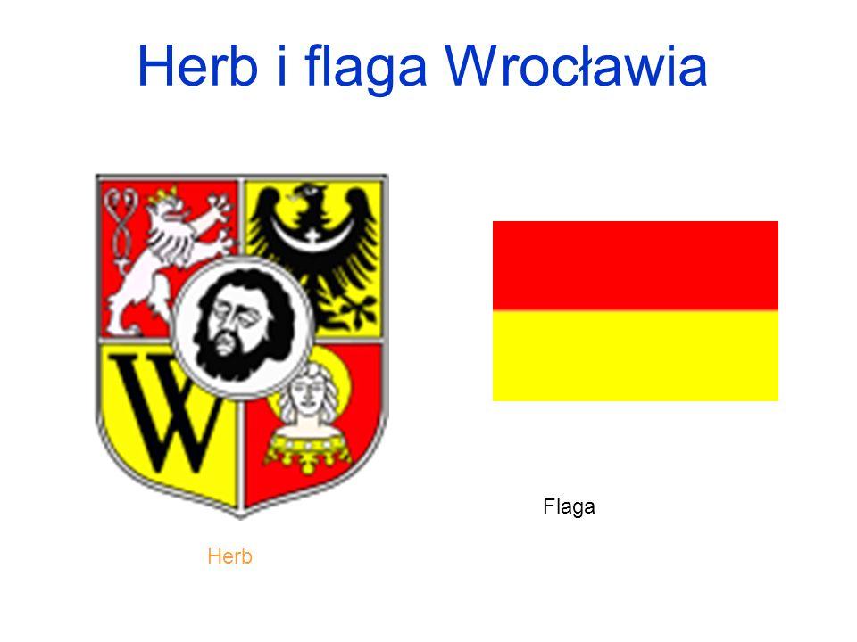 Herb i flaga Wrocławia Flaga Herb