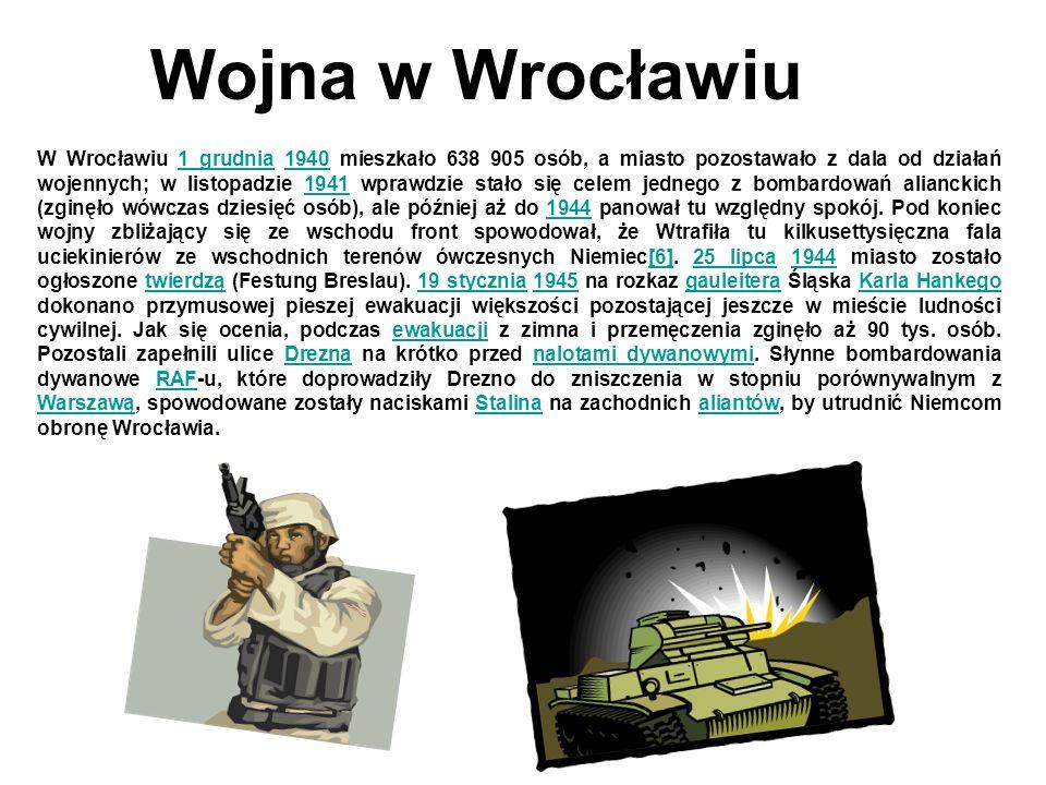 Wojna w Wrocławiu