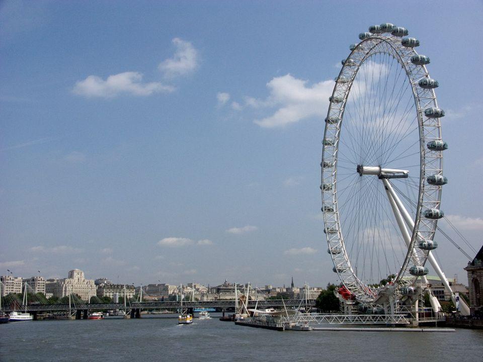 London Eye – koło obserwacyjne znajdujące się w dzielnicy Lambeth, w Londynie.
