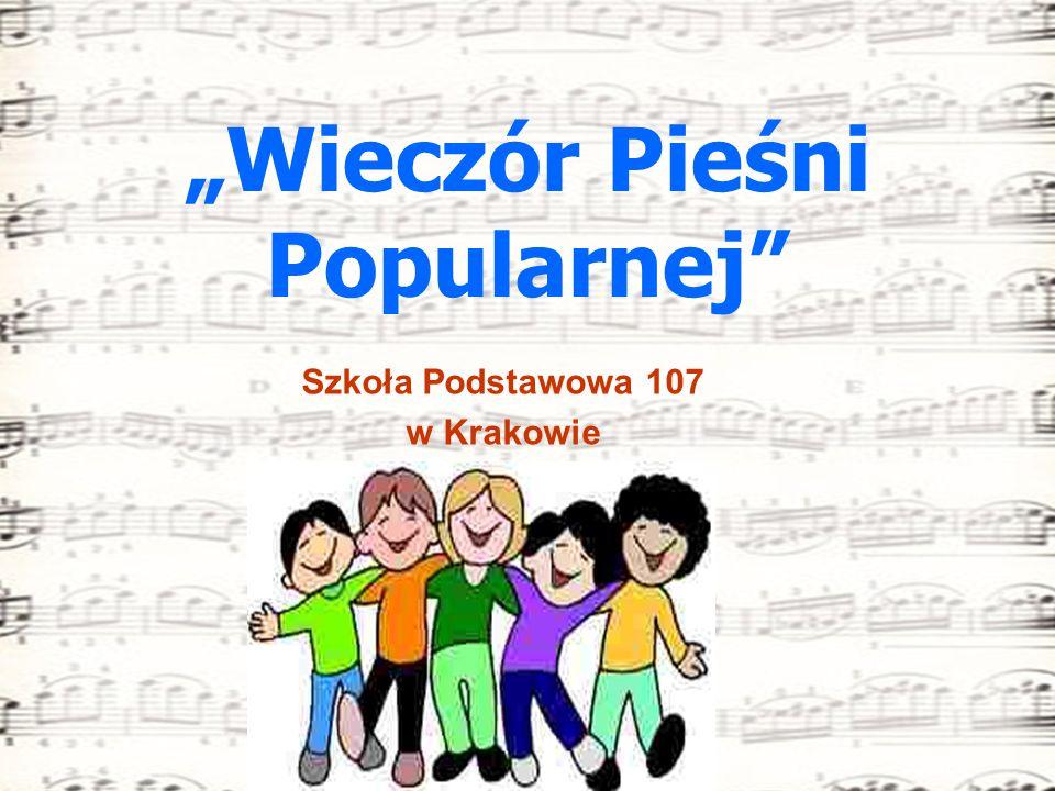"""""""Wieczór Pieśni Popularnej"""