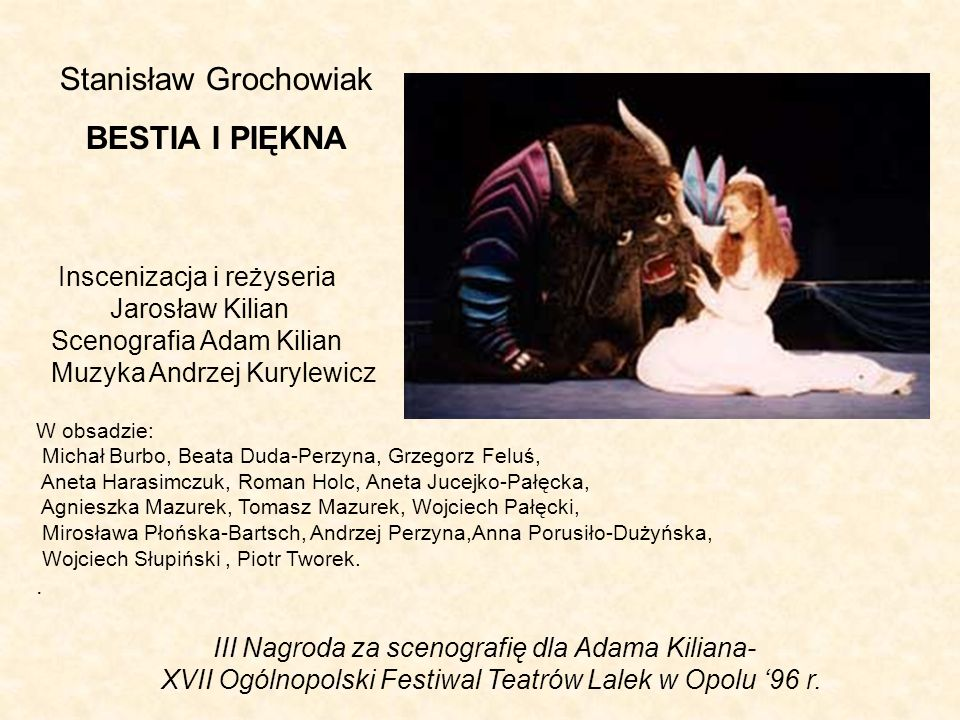 Stanisław Grochowiak BESTIA I PIĘKNA