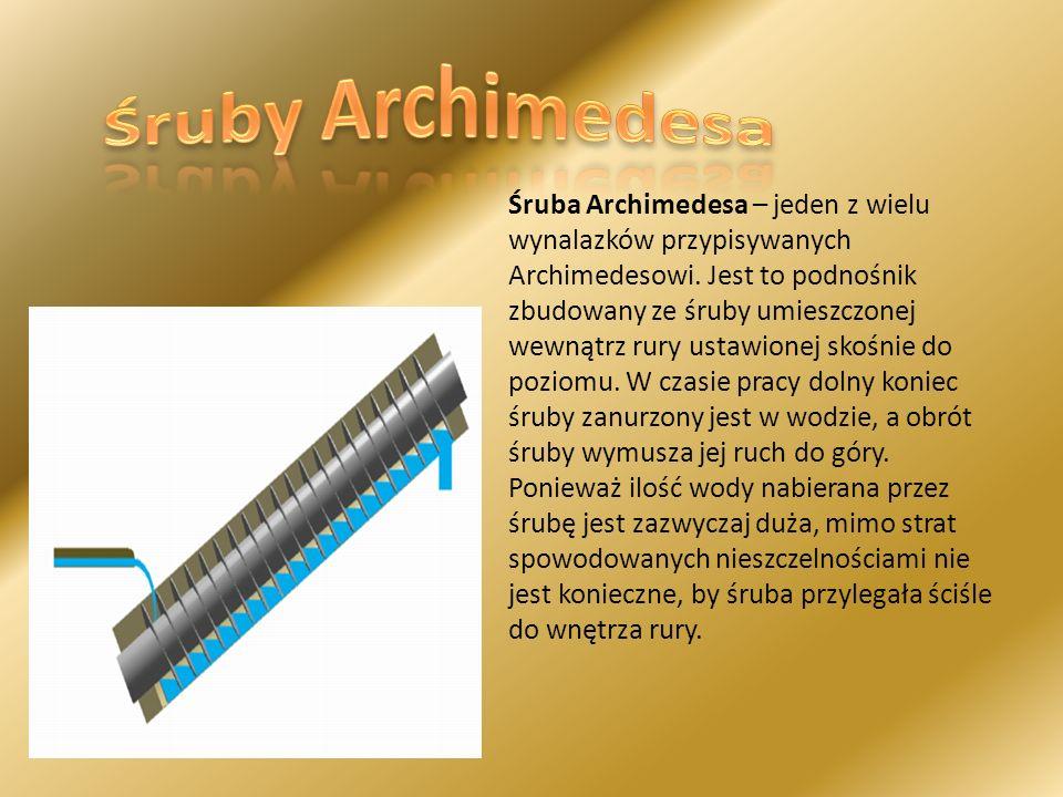 Śruby Archimedesa