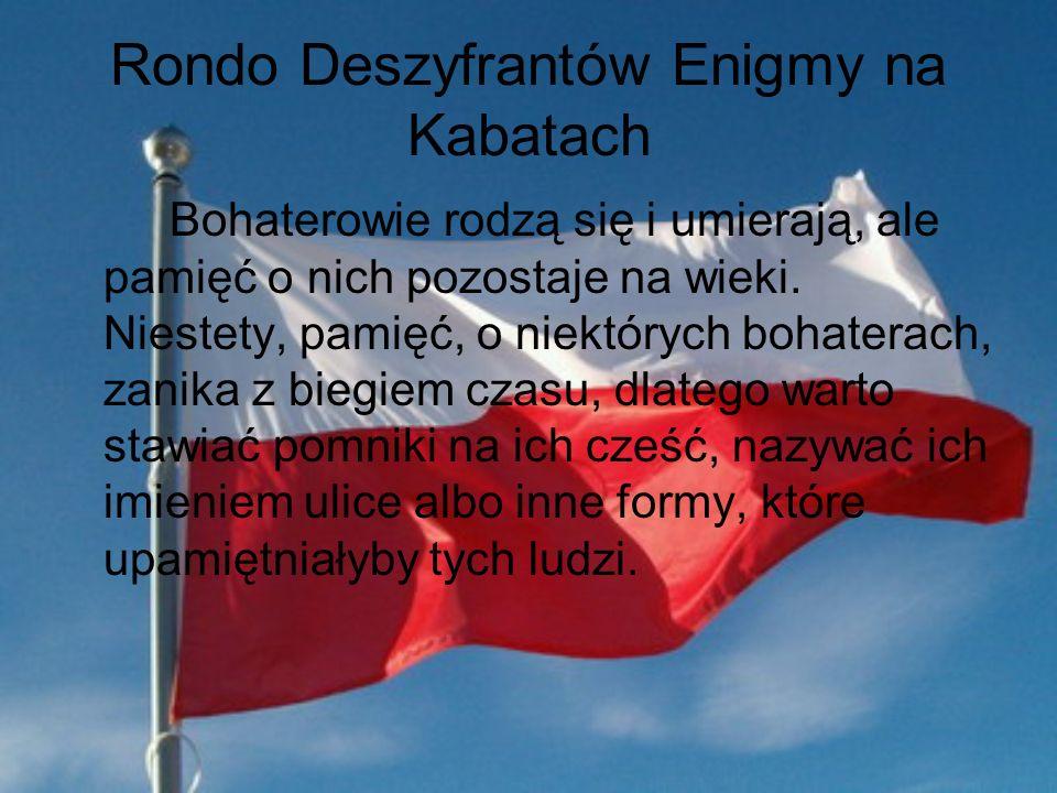 Rondo Deszyfrantów Enigmy na Kabatach