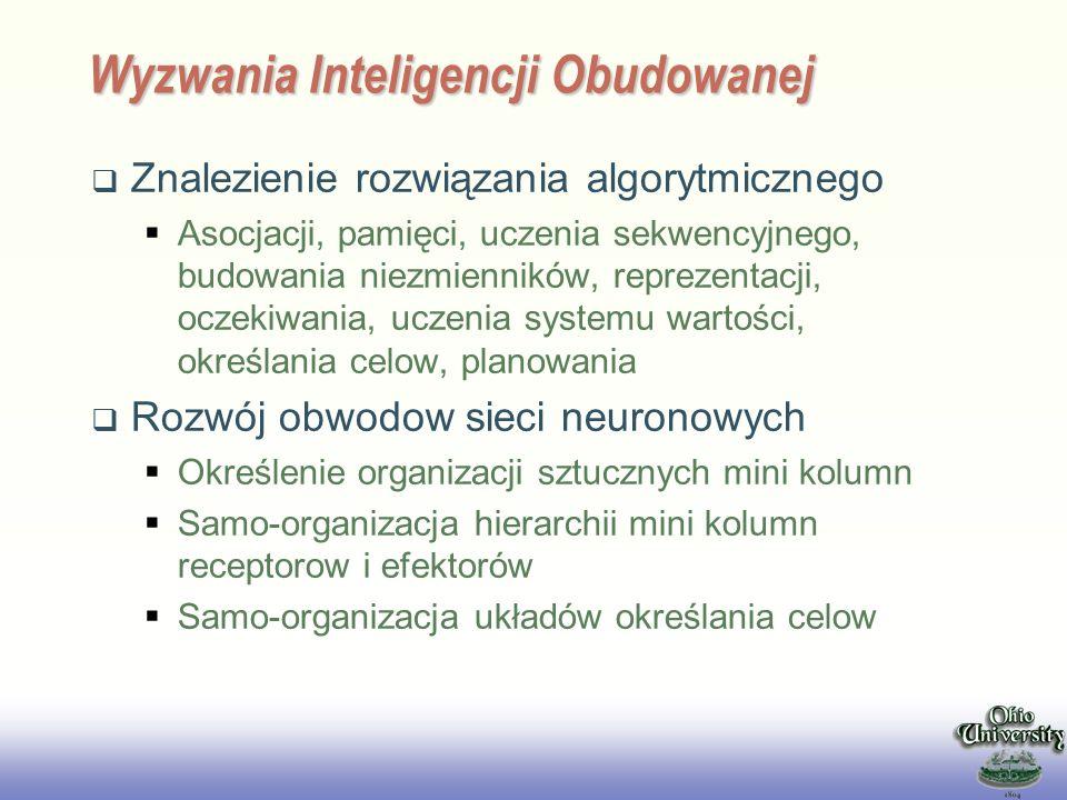Wyzwania Inteligencji Obudowanej