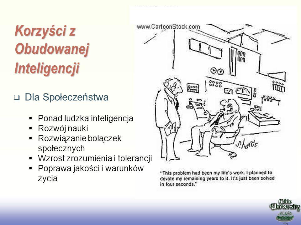 Korzyści z Obudowanej Inteligencji
