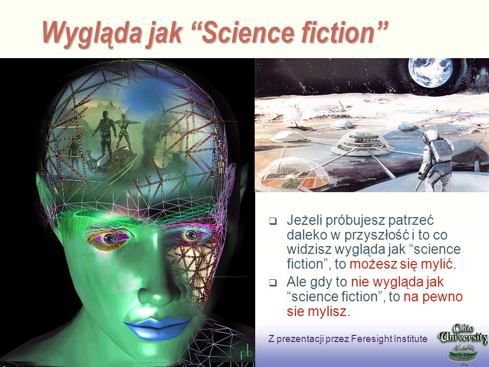 Wygląda jak Science fiction