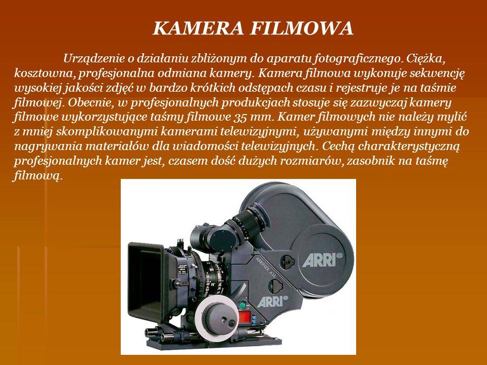 KAMERA FILMOWA