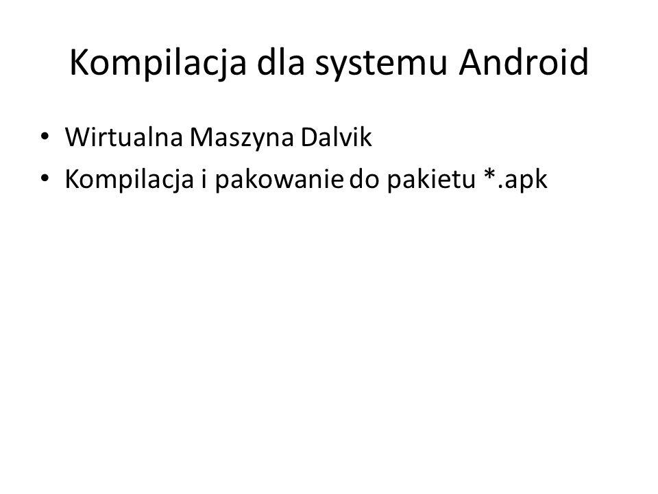 Kompilacja dla systemu Android