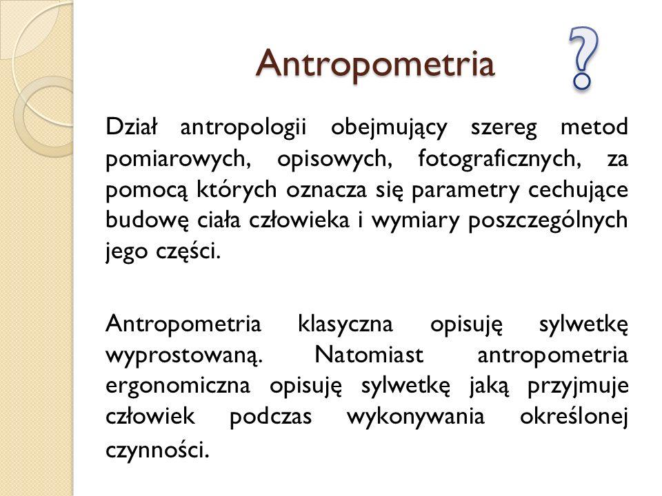 Antropometria.