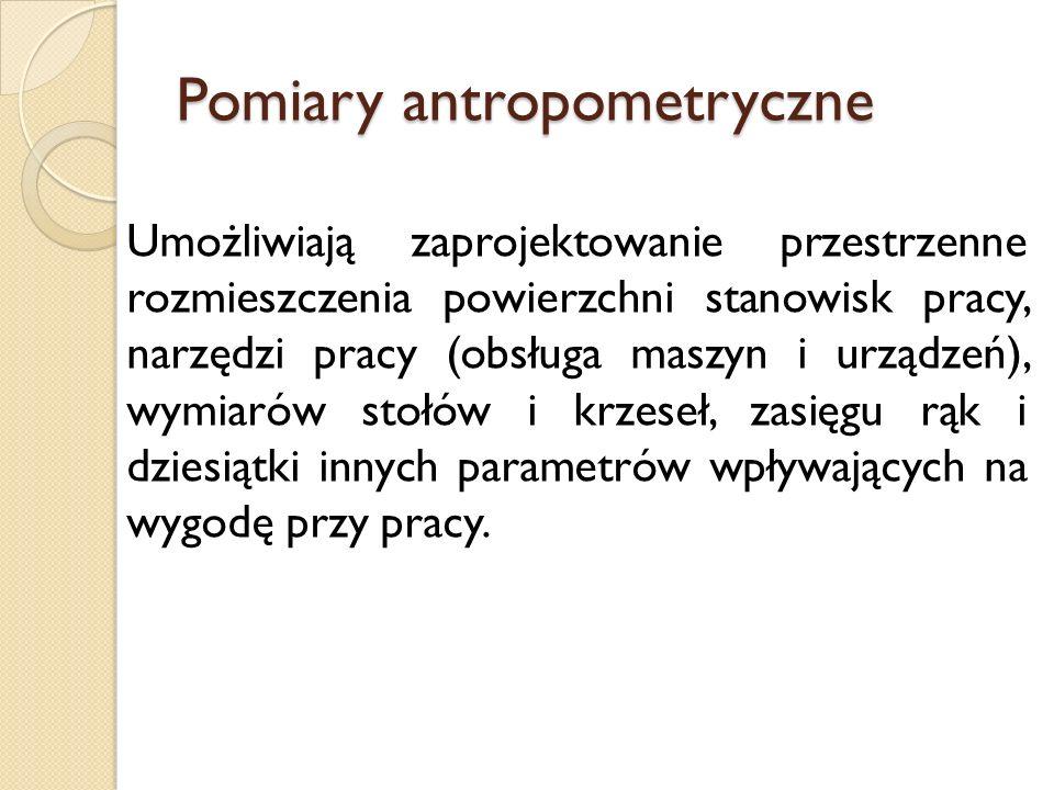 Pomiary antropometryczne