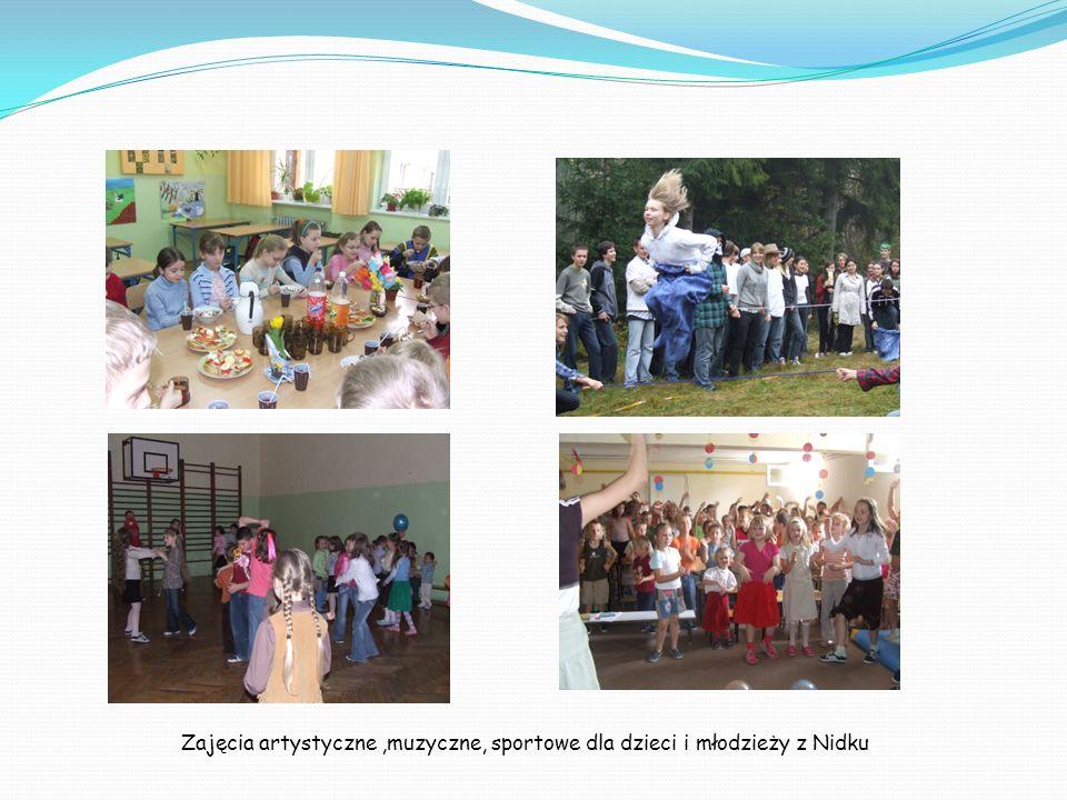 Zajęcia artystyczne ,muzyczne, sportowe dla dzieci i młodzieży z Nidku