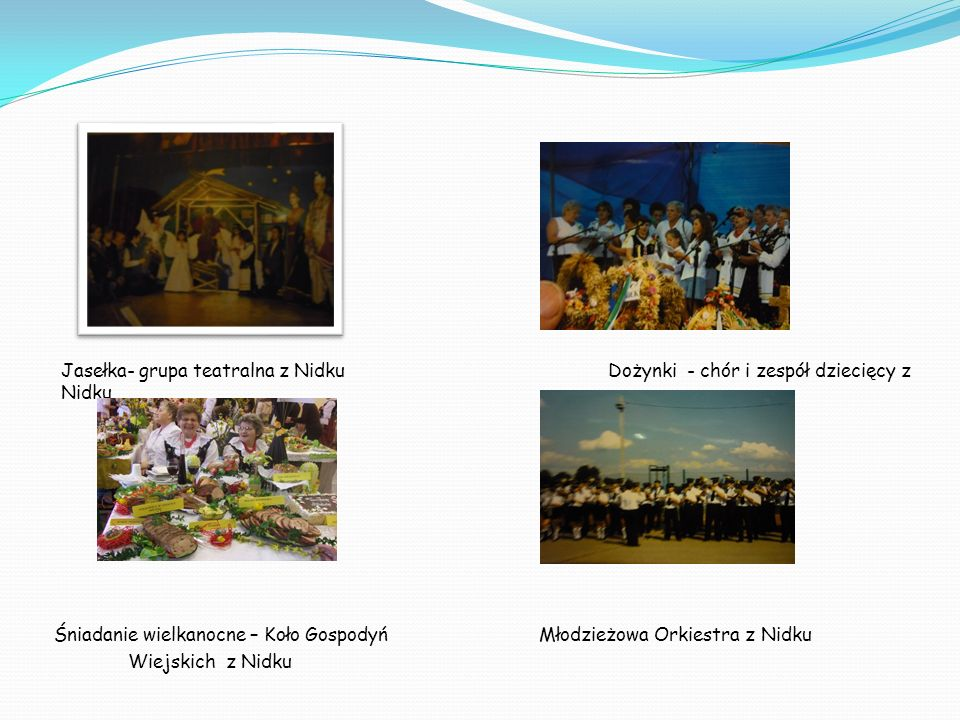 Jasełka- grupa teatralna z Nidku