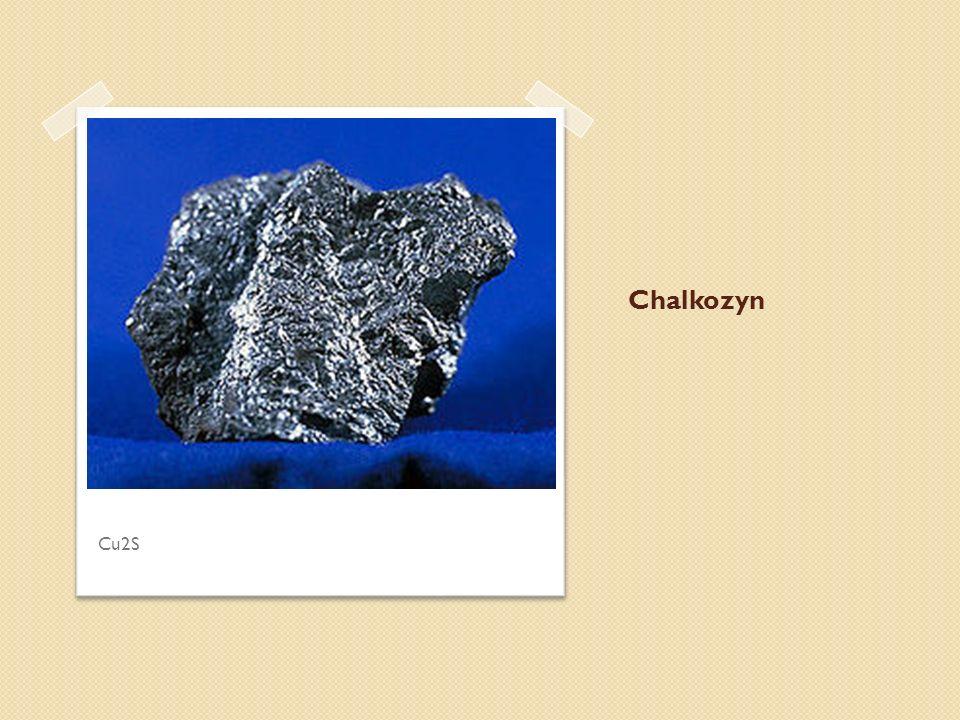 Chalkozyn Cu2S