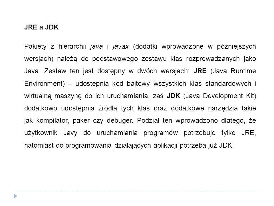JRE a JDK