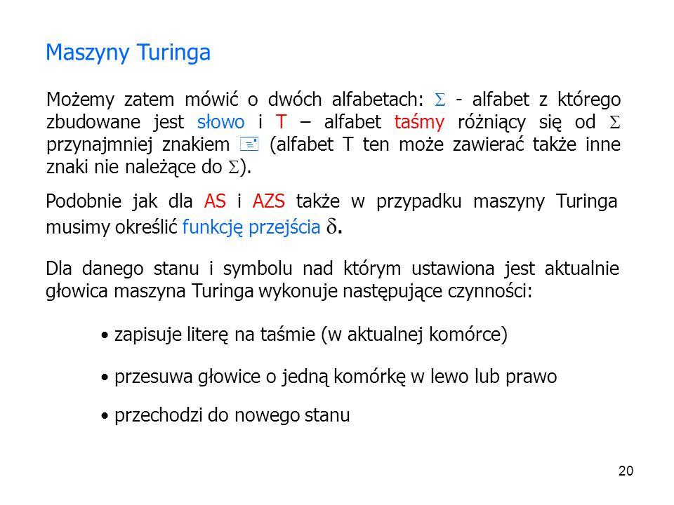 Maszyny Turinga