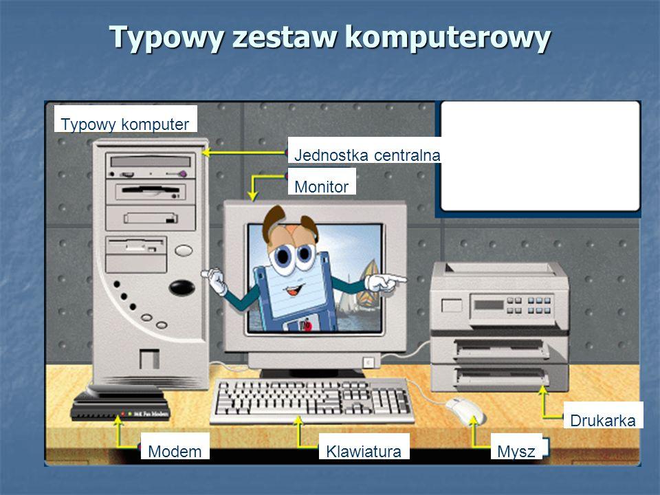 Typowy zestaw komputerowy