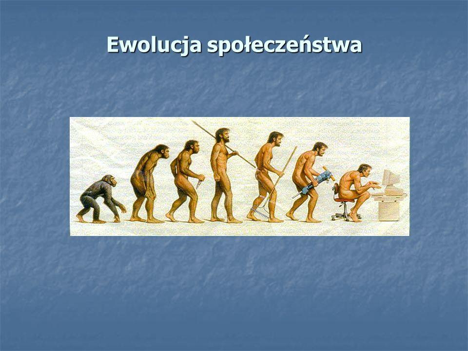 Ewolucja społeczeństwa