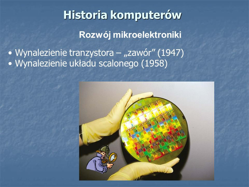 Rozwój mikroelektroniki