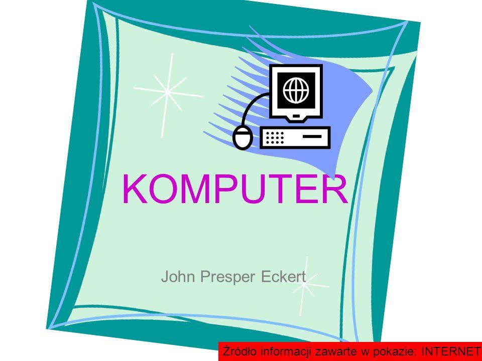KOMPUTER John Presper Eckert