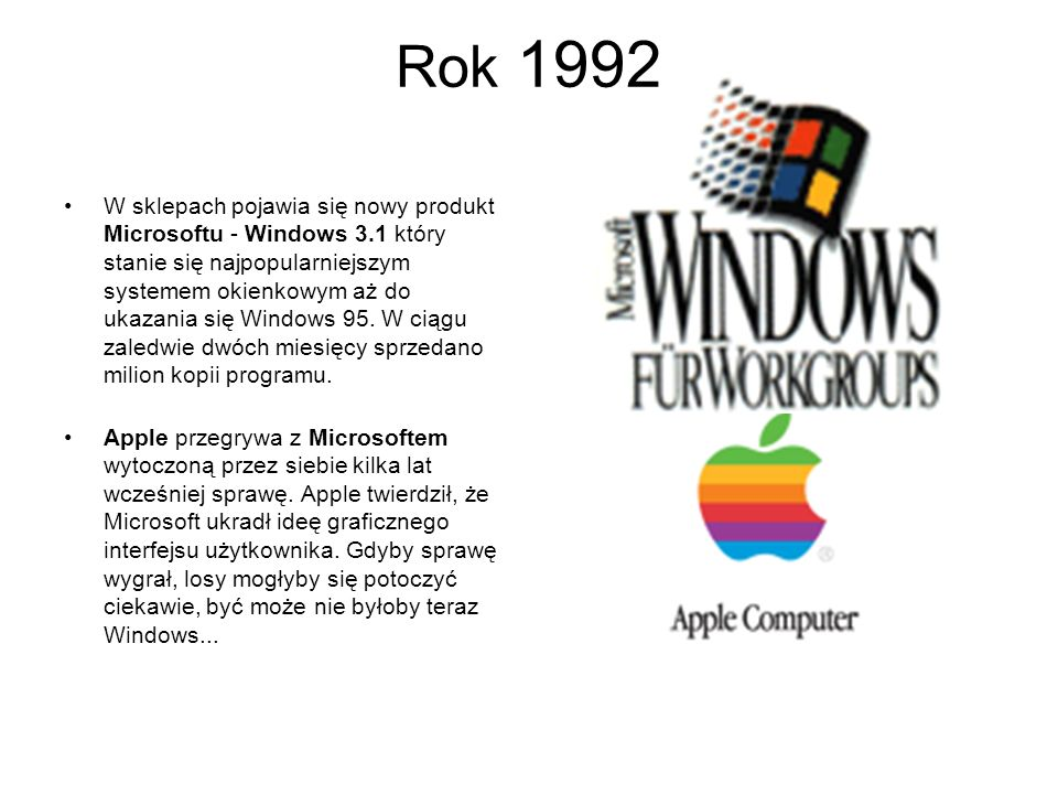 Rok 1992