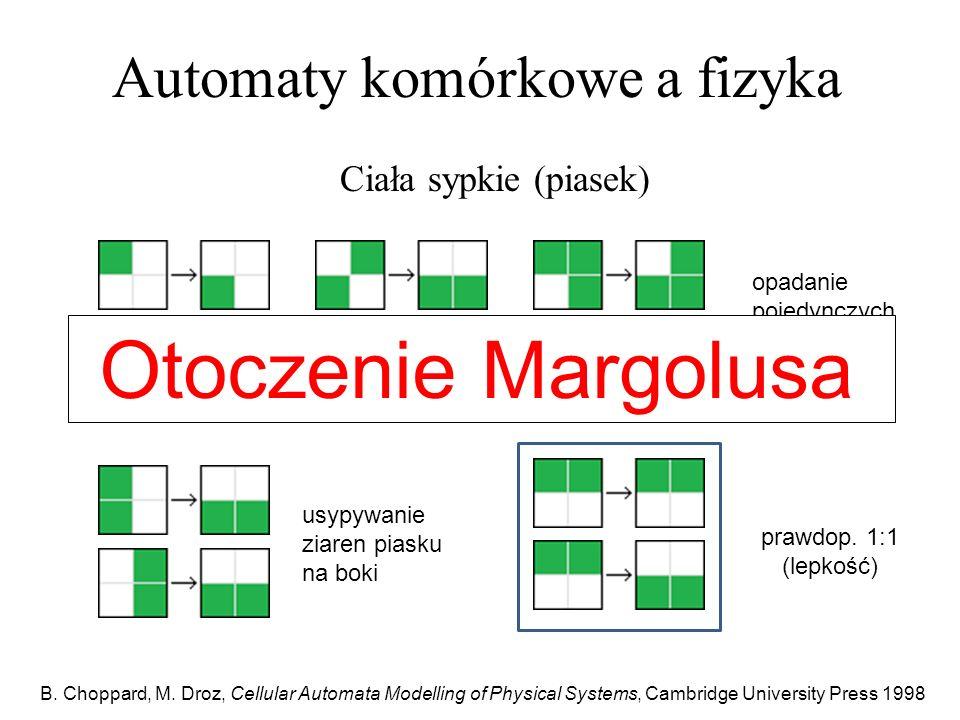 Automaty komórkowe a fizyka