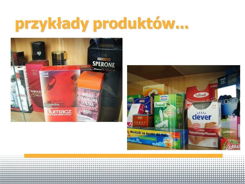 przykłady produktów...