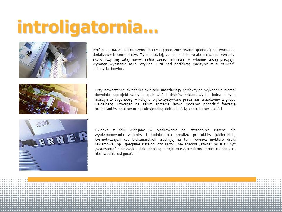introligatornia...