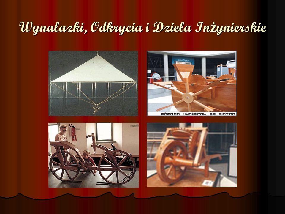 Wynalazki, Odkrycia i Dzieła Inżynierskie