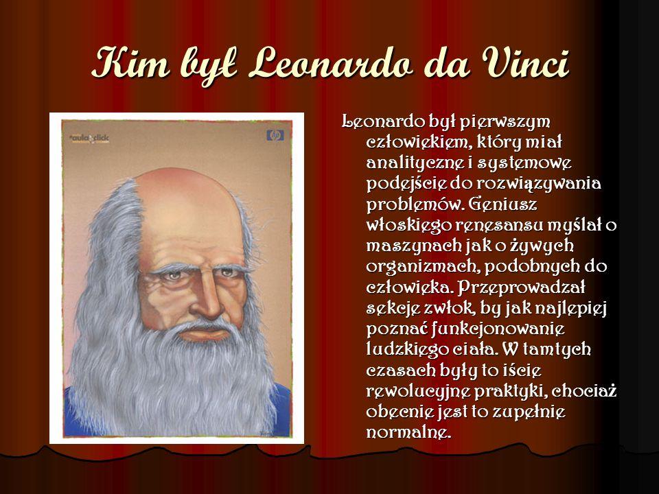 Kim był Leonardo da Vinci