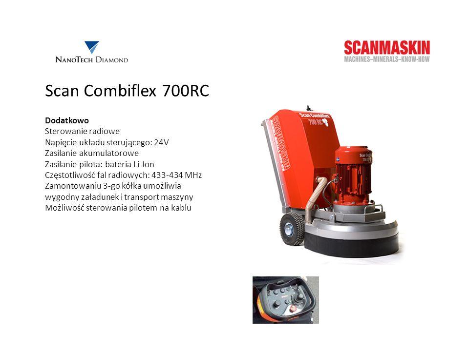 Scan Combiflex 700RC Dodatkowo Sterowanie radiowe
