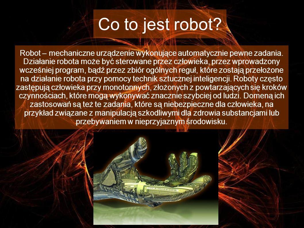 Co to jest robot