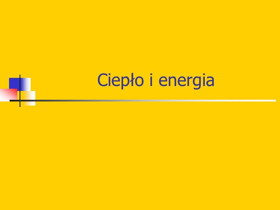 Ciepło i energia