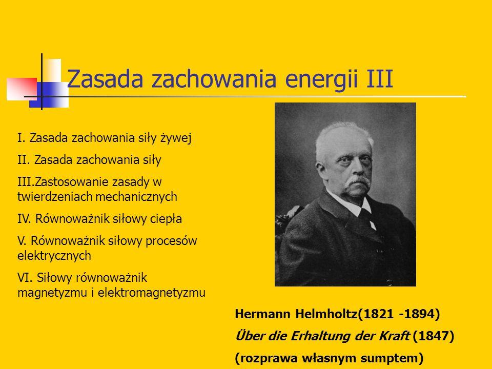 Zasada zachowania energii III